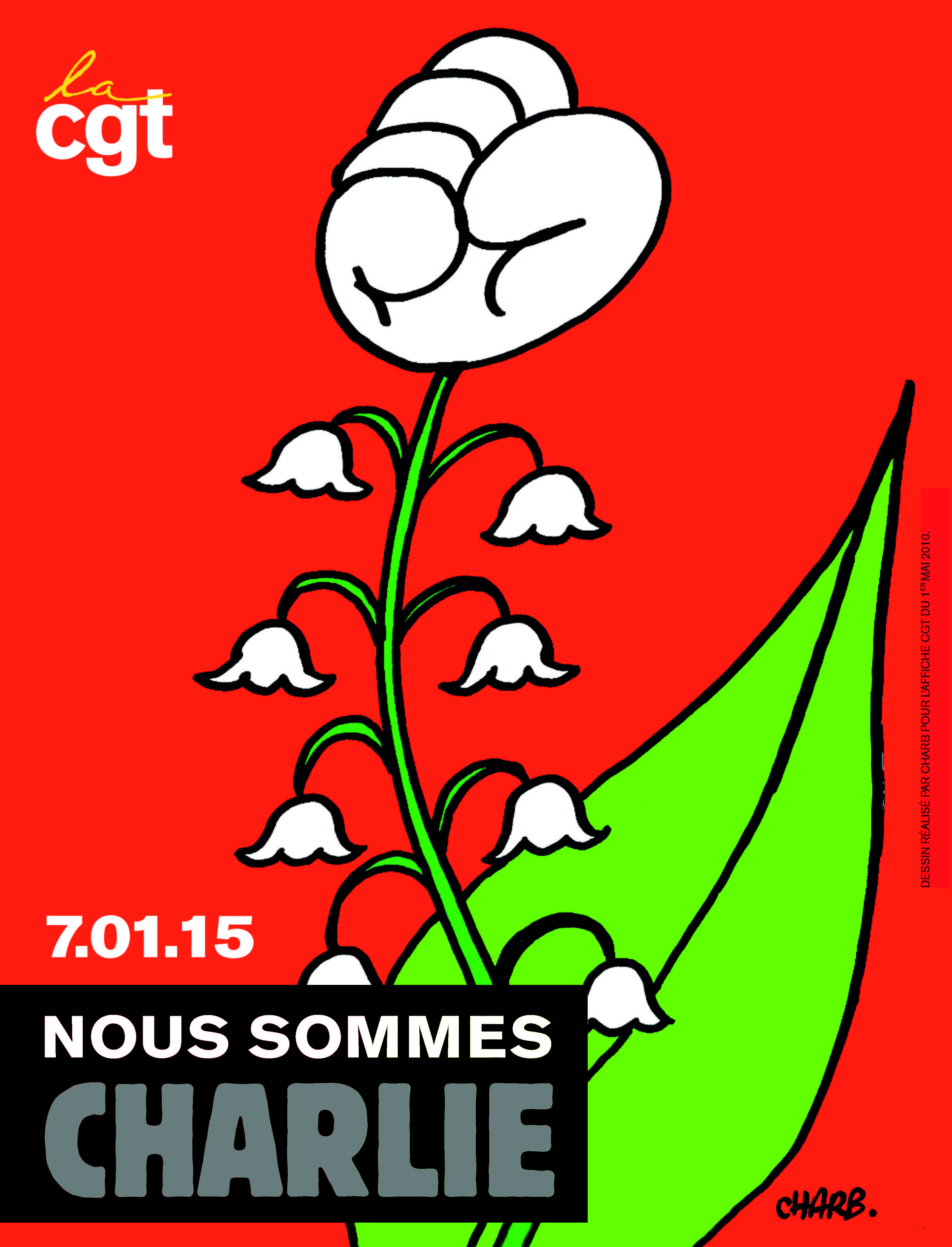 Cgt Nous sommes Charlie
